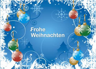 Kostenlose Bilder Frohe Weihnachten.Frohe Weihnachten Und Ein Gutes Neues Jahr Horst Eckel